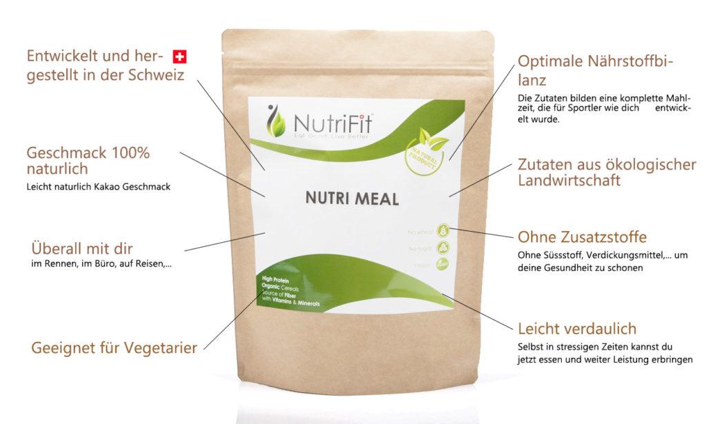NutriMeal Features